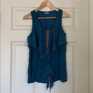 Wrangler tank top blouse